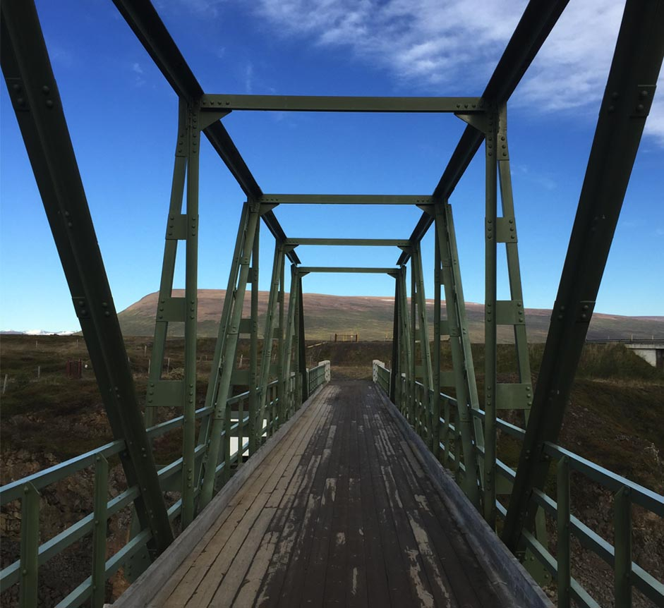bridge at Godafoss