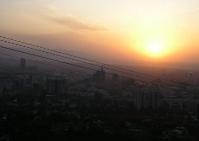 almaty-sunset