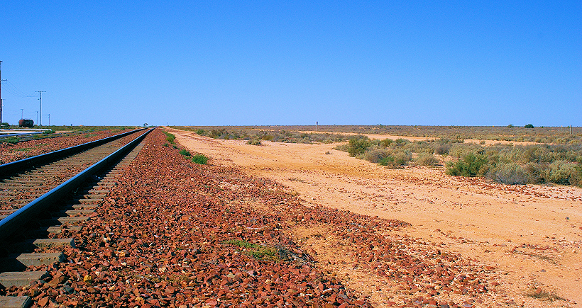 Heading 'Back East': Crossing the Nullarbor