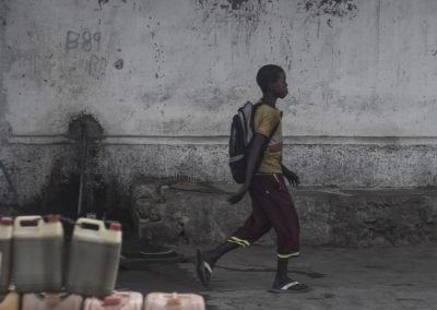 Child walking in Mogadishu