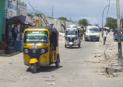 Yellow taxi cab - Somali style